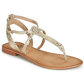 Vero Moda  VICKY LEATHER  women's Sandals in Gold