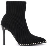 Alexander Wang  Eri black ankle boots with studs  women's Low Boots in Black