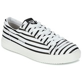 Armani jeans  ASANTORA  men's Shoes (Trainers) in White