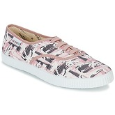 Victoria  INGLES PALMERAS  women's Shoes (Trainers) in Pink
