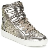 Aldo  BRIE  women's Shoes (High-top Trainers) in Silver