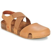 Art  WE WALK  women's Sandals in Brown