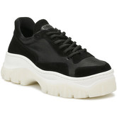 Bronx  Womens Black Jackson Chunky Trainers  women's Shoes (Trainers) in Black