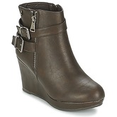 Refresh  SPONI  women's Low Ankle Boots in Brown