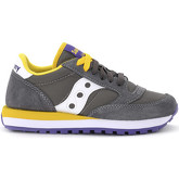 Saucony  Jazz sneaker in grey, yellow and violet suede and fabric  women's Shoes (Trainers) in Grey