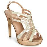 Menbur  TRECASALI  women's Sandals in Gold