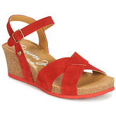 Panama Jack  VIKA  women's Sandals in Red