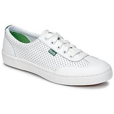 Keds  TOURNAMENT RETRO COURT PERF LE  women's Shoes (Trainers) in White