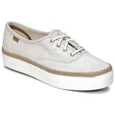 Keds  TRIPLE DALMATA DOT LEATHER  women's Shoes (Trainers) in Beige