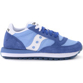 Saucony  Jazz bluette suede and light-blue fabric sneaker  women's Shoes (Trainers) in Blue