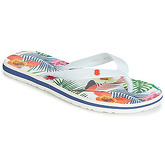Desigual  SHOES_FLIP FLOP_TROPICAL WHITE  women's Flip flops / Sandals (Shoes) in White