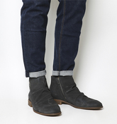 Ask the Missus Guilty Zip Boot CHARCOAL GREY