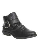 Blowfish Aeon Ankle Boot BLACK OLD RANGER