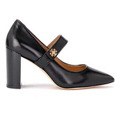 Tory Burch  Kira décolleté in black leather  women's Court Shoes in Black