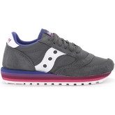 Saucony  Jazz O' Rainbow grey and white suede and nylon sneaker  women's Shoes (Trainers) in Grey