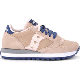 Saucony  Sneaker Jazz pale pink and blue suede and fabric.  women's Shoes (Trainers) in Pink