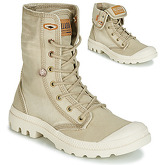 Palladium  PALLADENIM BAGGY  women's Mid Boots in Beige