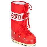 Moon Boot  NYLON  women's Snow boots in Red