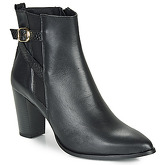 So Size  AURELIO  women's Low Ankle Boots in Black