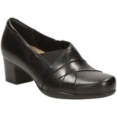 Clarks  Rosalyn Adele Extra Wide Womens Smart Shoes  women's Court Shoes in Black
