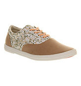 BucketFeet Bucketfeet Lace Up PINK PATTERN COMMON TRANSPORT