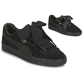 Puma  W SUEDE HEART EP.BLACK  women's Shoes (Trainers) in Black