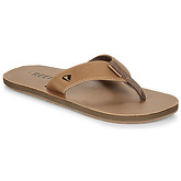 Reef  LEATHER SMOOTHY  men's Flip flops / Sandals (Shoes) in Brown