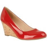 Lotus  Georgia Womens Wedge Heel Shoes  women's Court Shoes in Red