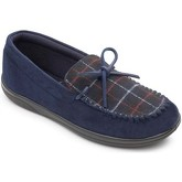 Padders  Lounge 432 Mens Moccasin Slippers  men's Slippers in Blue