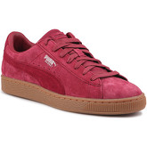 Puma  Lifestyle shoes  Basket Classic Weatherproof 363829 01  men's Shoes (Trainers) in Pink