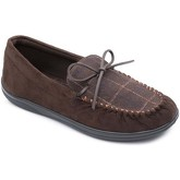 Padders  Lounge 432 Mens Moccasin Slippers  men's Slippers in Brown