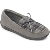 Padders  Lounge 432 Mens Moccasin Slippers  men's Slippers in Grey