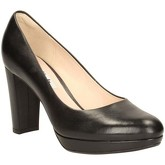 Clarks  Kendra Sienna Womens Narrow Court Shoes  women's Court Shoes in Black
