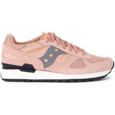 Saucony  Shadow pink and grey suede and mesh Sneaker  men's Shoes (Trainers) in Pink
