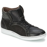 BKR  LAST MAN  men's Shoes (High-top Trainers) in Black