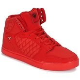 Cash Money  CMS13 JAILOR  men's Shoes (High-top Trainers) in Red