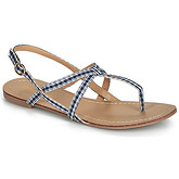 Moony Mood  JEKERINE  women's Sandals in Blue