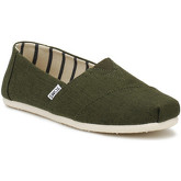 Toms  Mens Pine Green Heritage Canvas Classic Espadrilles  men's Espadrilles / Casual Shoes in Green