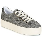No Name  PLATO SNEAKER  women's Shoes (Trainers) in Grey
