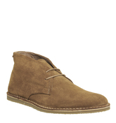 Ask the Missus Giggle Chukka RUST SUEDE
