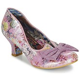 Irregular Choice  DAZZLE RAZZLE  women's Court Shoes in Pink