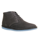 Ask the Missus Delta Chukka Boot GREY SUEDE ICE SOLE