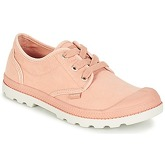 Palladium  US OXFORD LP F  women's Shoes (Trainers) in Pink
