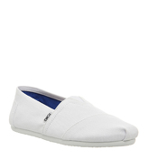 Toms Classic OPTICAL WHITE CANVAS
