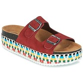 Betty London  GRANJY  women's Mules / Casual Shoes in Red