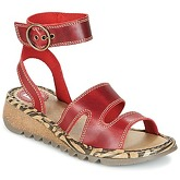 Fly London  TILY  women's Sandals in Red