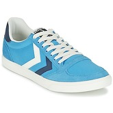 Hummel  TEN STAR DUO CANVAS LOW  women's Shoes (Trainers) in Blue