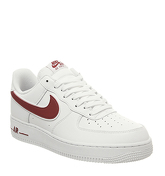 Nike Air  Force One (m) WHITE GYM RED