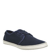 Original Penguin Epic Lace Up NAVY MESH CANVAS