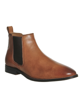 Office Exit Chelsea Boot TAN LEATHER